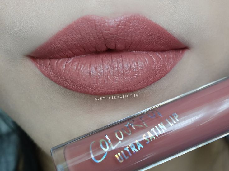Colourpop Ultra Satin Lip Echo Park Lip Swatch