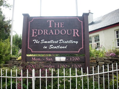 Whisky merchants: Edradour Highland Distillery Photos