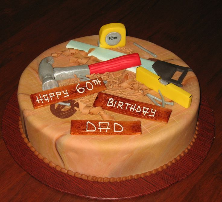 Cake Ideas For Dad S 60th Birthday : Cake for dad Cupcakes / Cakes Pinterest