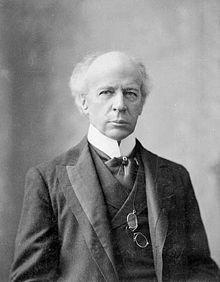 Wilfrid Laurier en 1906.