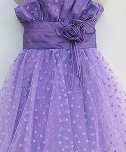 Purple party dress #purple #girldress #saledress #partydress #satingirldress #sale