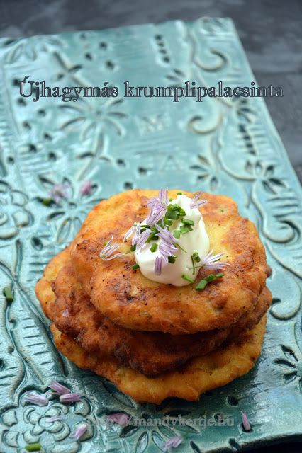 Mandy kertje és konyhája : Újhagymás krumplilepény