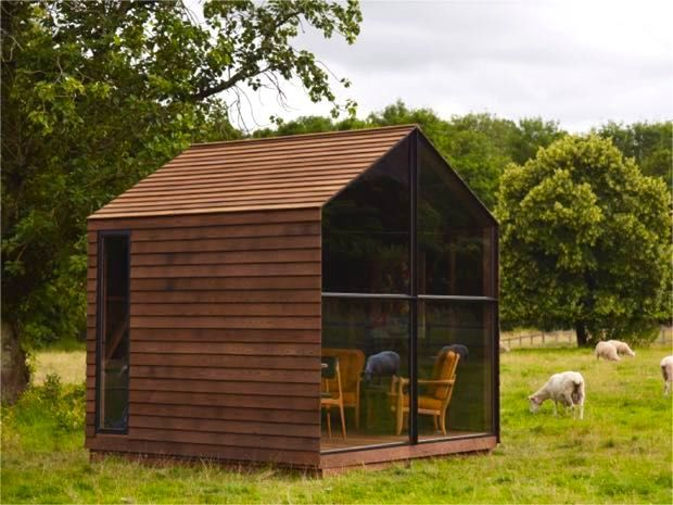 This little shed would make the the best looking tiny house I have seen yet.