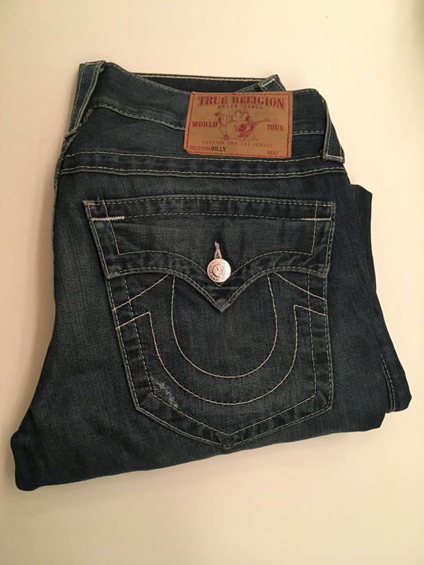 3709123c6 True Religion Billy Jeans - Men s Size 31