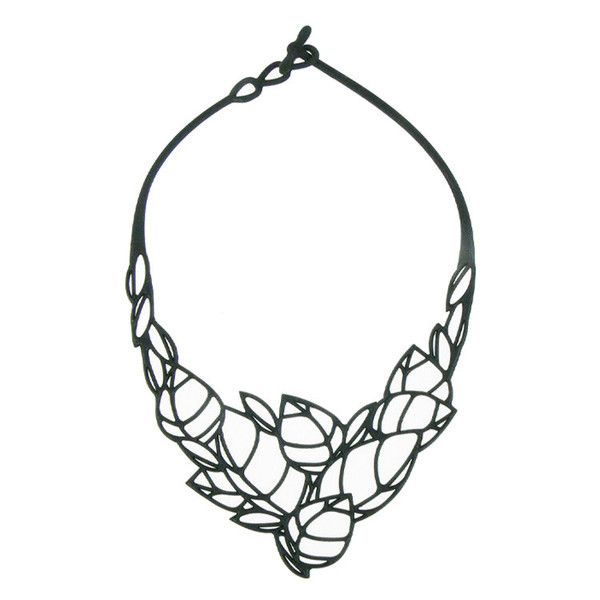 Batucada Acacia Necklace - Black $49.95 #leethal #leethalfashion