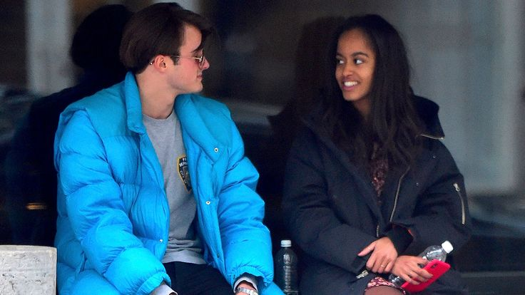 FOX NEWS: Malia Obama spotted with new boyfriend former 'head boy' of posh British prep school