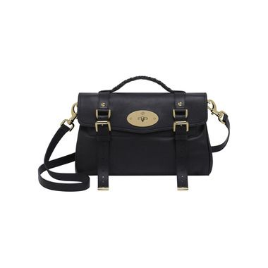 Another wish added to the list: Mulberry Alexa in Black Polished Buffalo