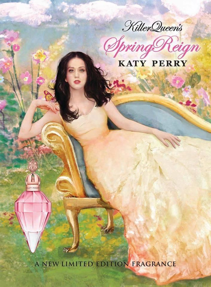 NEED! NEED! NEED THIS NOW! LIMITED EDITION! SPRING REIGN!! IM BORN IN SPRING! PINK! KATY PERRY! PERFUME! COMPLETE MY COLLECTION!