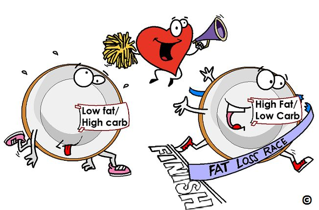 If you have a few extra pounds - be a little rebellioius and break all the rules.  A high fat diet is not a scenic route to a heart attack and its way quicker.  Read how a high fat diet will shed pounds faster without jeopardizing your heart.