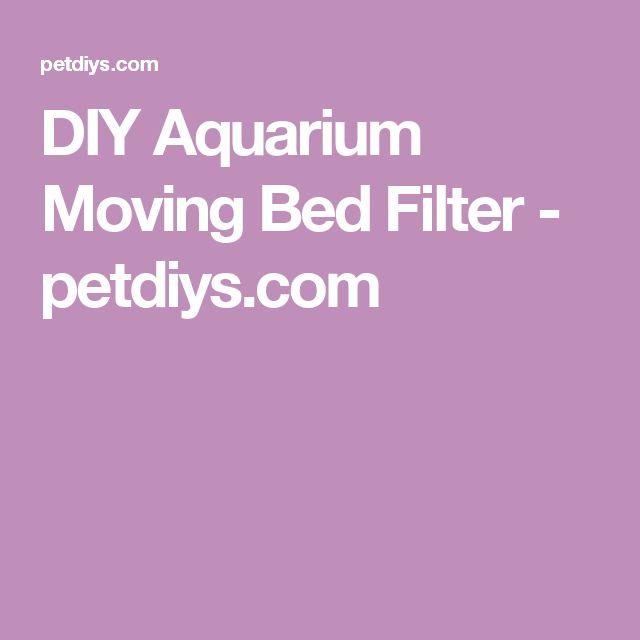 DIY Aquarium Moving Bed Filter - petdiys.com