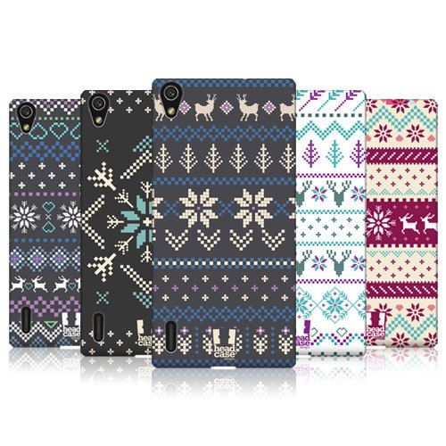 HEAD CASE DESIGNS FAIR ISLE WINTER PRINTS CASE FOR HUAWEI ASCEND P7 LTE in Mobile Phones & Communication, Mobile Phone & PDA Accessories, Cases & Covers   eBay