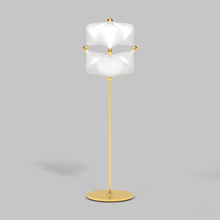 Clover, designed by Michael Young. The Clover array is a direct descendent of the Super Clover, a large geometric lighting form based upon extensive study of the opportunities presented by creating light sculptures within a mathematical grid system.