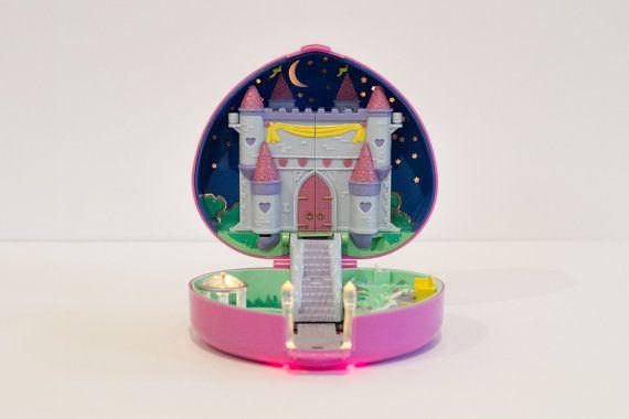 1992 Vintage Polly Pocket  Starlight Castle  by southallsvintage