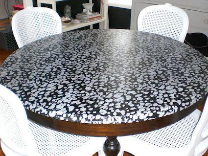 13 Mod Podge table ideas you'll love. - Mod Podge Rocks