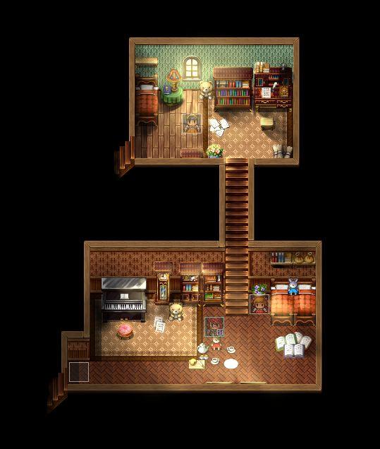 Rpg Pixel Wooden Floor | Wooden Thing
