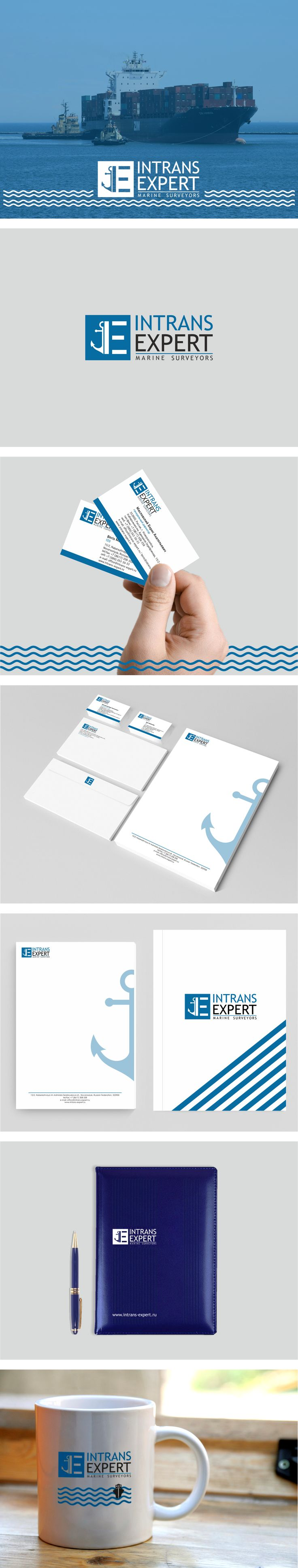 Intrans Expert. Identity Branding. Business Card. Letterhead.