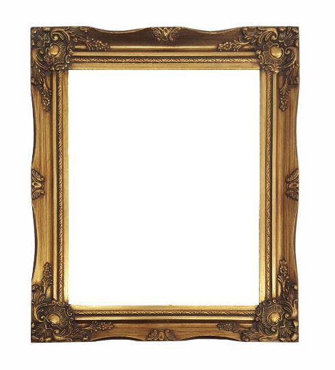Ornate Baroque Gold Painted Wooden Frame Sizes 5x7 8x10 11x14 16x20 20x24 24x36 Frame Antique Frames Gold Paint