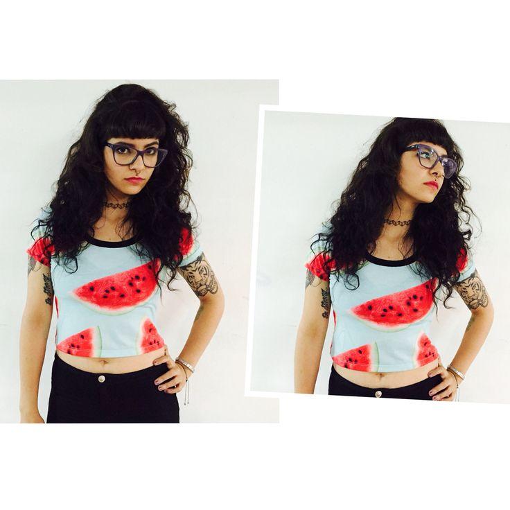 ️Croptop Watermelon #maradlavilla