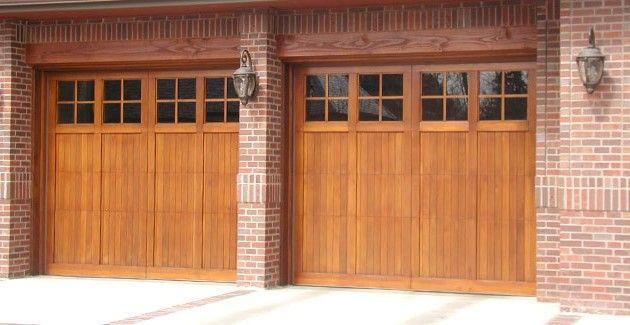 25 best ideas about craftsman garage door on pinterest for Best wood for garage doors