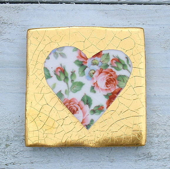 Beautilful heart tile from welbeck tiles