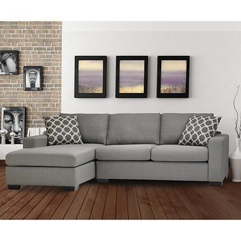 Iron Sofa Bed with Left Hand Facing Chaise  Costco.ca