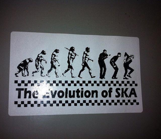 #piotrkówtrybunalski #stickers #vlepki #vlepka #ska #ptb #evolution ewolucja