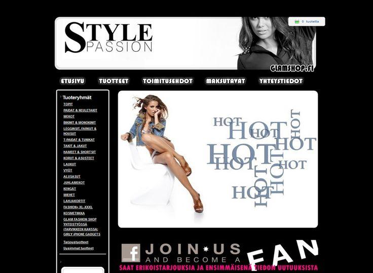 Glam Fashion Shop myy trendikkäät ja näyttävät vaatteet sekä asusteet niin miehille kuin naisillekin.