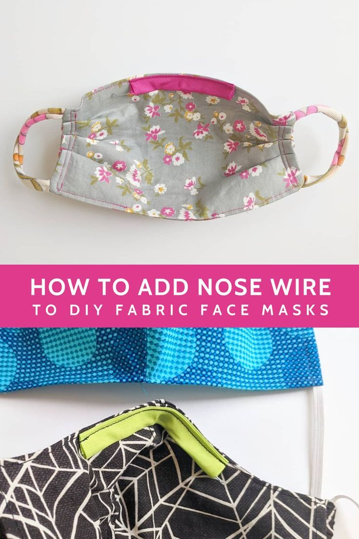 Diy Face Mask Sewing Pattern Review How To Add Nose Wire To
