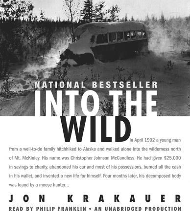 In April 1992 a young man from a well-to-do family hitchhiked to Alaska and walked alone into the wilderness north of Mt. McKinley. His name was Christopher Johnson McCandless. He had given $25,000 in savings to charity, abandoned his car and most of his possessions, burned all the cash in his wallet, and invented a new life for himself. Four months later, his decomposed body was found by a moose hunter.  How McCandless came to die is the unforgettable story of Into the Wild.Immediately…