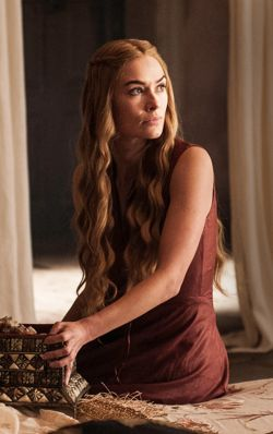 Cersei Lannister (Eldest daughter of Tywin Lannister & married to Robert Baratheon)