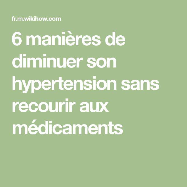 6 manières de diminuer son hypertension sans recourir aux médicaments