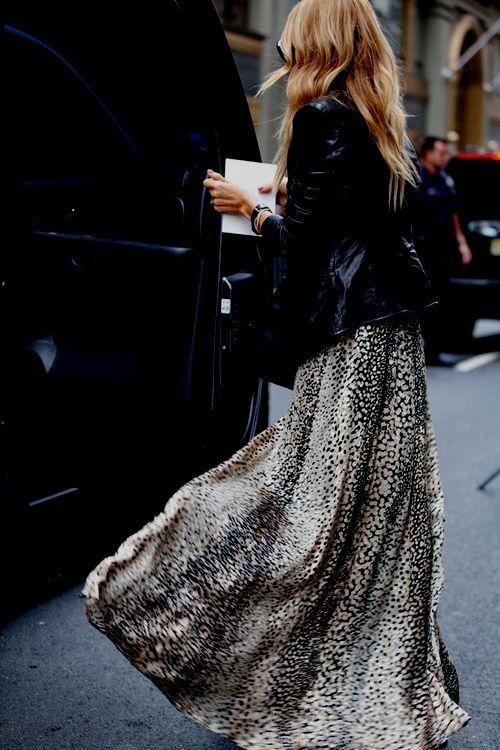 Zoe's maxi skirt