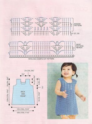 Picasa Web Albums - Crochet Today! Mag Jul/Aug '08 issue - crochet girl's dress pattern diagram
