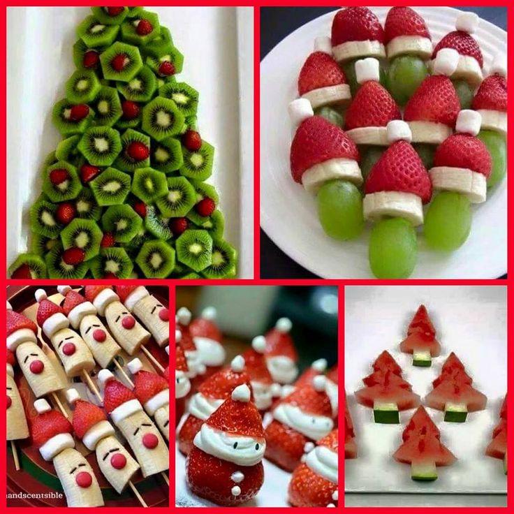 Afbeeldingsresultaat voor leuke kersthapjes voor kinderen