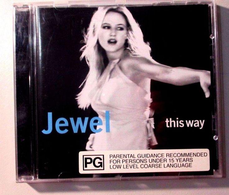 This Way by Jewel (CD, Nov-2001, Warner Bros.)
