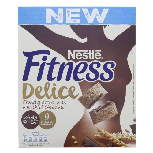 nestlé fitness delice cereal 350g choco