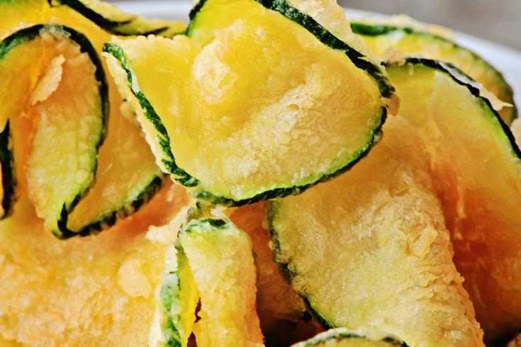 Quer fazer chips de abobrinha super crocantes?
