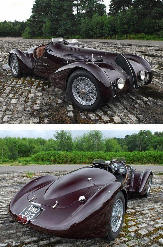 1938 Alfa Romeo 6C 2300B Mille Miglia Spyder #AlfaRomeoclassiccars #VolkswagonCl…