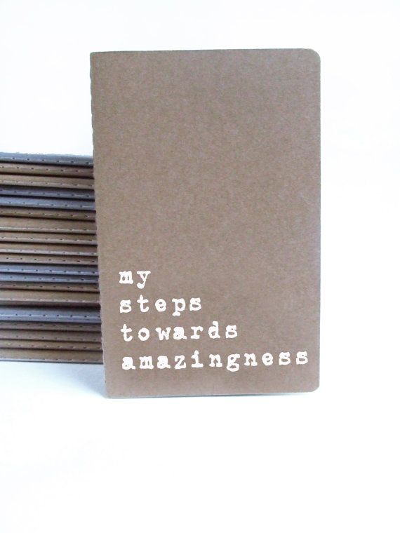 Funny Christmas present. Brown cover MOLESKINE® notebook with funny quote. Perfect Stocking filler this Christmas!