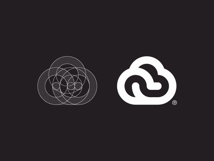 Dribbble - Cloud Logo Design by Paulius Kairevicius