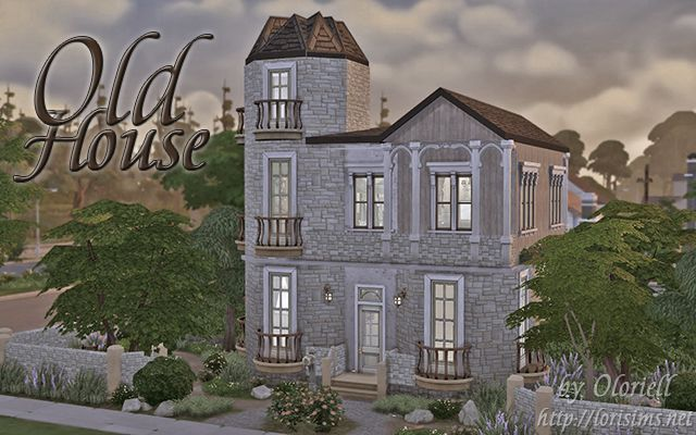 Old House by Oloriell for The SIms 4