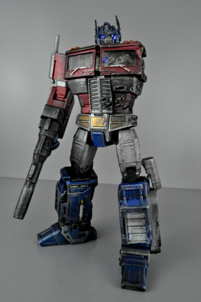 "Custom Transformers Masterpiece ""Dark Awakening"" Optimus Prime"