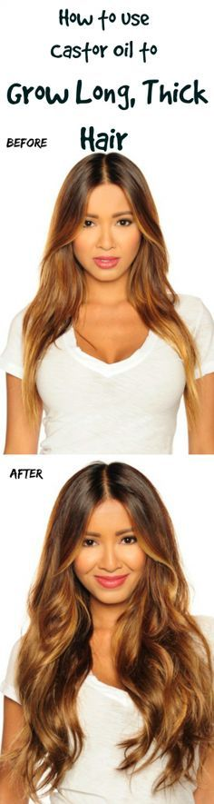 Use castor oil on your hair and skin just twice a week! I couldn't believe how fast my hair started growing!!!