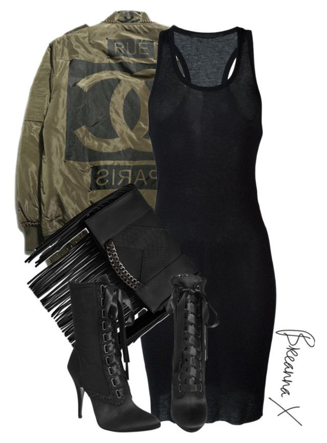 """Untitled #2823"" by breannamules ❤ liked on Polyvore featuring Haider Ackermann, Steve Madden and Giuseppe Zanotti"
