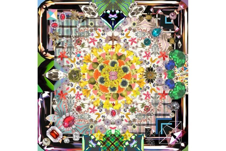 Jewels Garden Rug by Maison Christian Lacroix for Moooi Carpets | Space Furniture