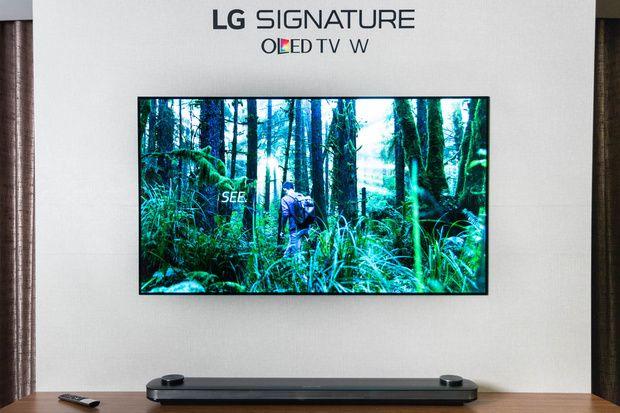 De nieuwe LG W7 televisie