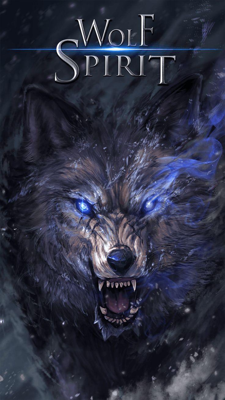 Wolf spirit live wallpaper