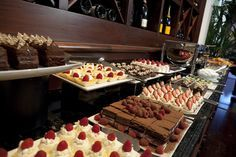 dessert buffet | Sunday Brunch at Meritage at the Claremont Hotel