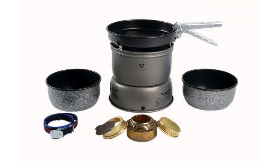Trangia Réchaud Tempête 27-5 Ultralight Alu ensemble antiadhésif