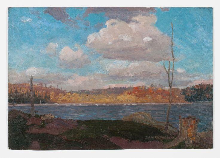 Tom Thomson Catalogue Raisonné | Algonquin Park, September, Fall 1913 (1913.28)…